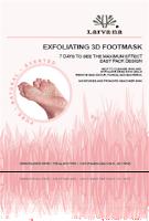 LARVA-NA EXFOLIATING 3D FOOT MASK
