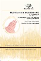 LARVA-NA NOURISHING & MOISTURISING HAND MASK